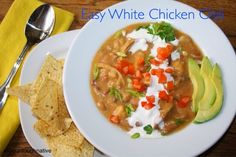 SourdoughNative: Easy White Chicken Chili