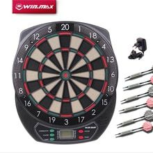 Buy WINMAX Indoor Sport Scoring board Dartboard LED Display Proofessional  Electronic Dart Board with 6 soft tip darten at www.smilys-stores.com! Free shipping. 45 days money back guarantee.