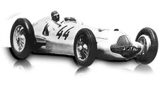 1938: Mercedes-Benz 3-litre formula racing car W 154:  For the 1938 season, the weight of the racing cars was no longer limited, but the displacement was: to a maximum three litres with and 4.5 litres without supercharger. Mercedes-Benz had the right answer in the W 154, the make's first twelve-cylinder car. It won six of the nine most important races in 1938; in 1939, the W 154 won five out of seven races.  Displacement:	V12  Maximum Output:	2962 cc (181 cu in)  Top speed: 285 km/h (177…