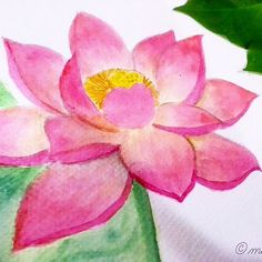 Drawing flower from a to z l for lotus flower artbymariacd drawing flower from a to z l for lotus flower artbymariacd 12monthsofpaint gouachewc inspiration pinterest drawing flowers draw and gouache mightylinksfo