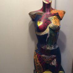Painted mannequin- augusto Zerbi- www.augustozerbi.com My Works, Painting, Style, Fashion, Swag, Moda, Stylus, Fashion Styles, Painting Art
