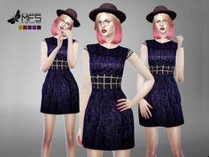 MissFortune Sims: Maxine Dress • Sims 4 Downloads