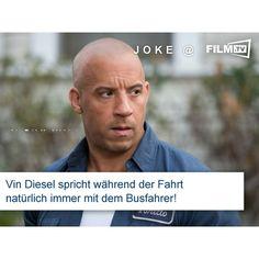 #vindiesel #fastandfurious8 #joke #busfahrt