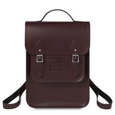 Oxblood Portrait Backpack | The Cambridge Satchel Company