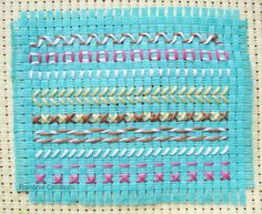 Some simple embroidery stitches that children can learn to do themselves, many of which are variations of one type of simple stitch.    Embr...