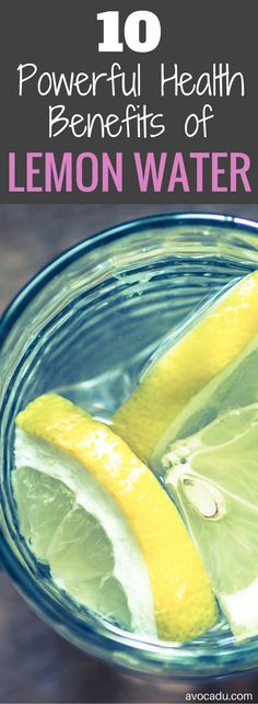 Lemon Water Benefits | Lemon Water Diet | Lemon Water in the Morning | Healthy Drinks to Lose Weight | http://avocadu.com/the-detoxifying-powers-of-lemons/