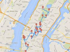 The Perfect Walking Tour of NYC, According to a Data Scientist - Curbed NY
