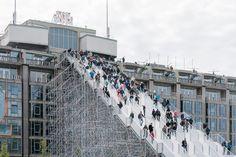 The Stairs To Kriterion von MVRDV   Installationen