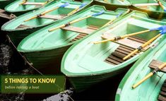 Renting a boat might become a tricky affair if you are not familiar with the basic things that you need to be aware of.The article sheds light on these aspects Renting, Things To Know, Sheds, Affair, Rabbit, Boat, Shed Houses, Bunny, Rabbits