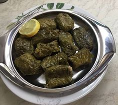 Ντολμαδάκια γιαλαντζί με αμπελόφυλλα Αντώνης Food And Drink, Ethnic Recipes