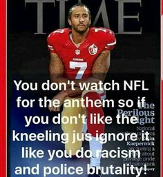 Exactly. I can't stand the anthem anyway. Bombs bursting...geez. It gets racist during the second verse. How about America the Beautiful instead? Now that's something to be proud of.