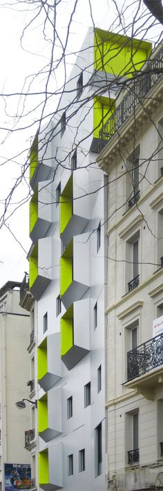DPU Social Housing, Paris 18, 2009