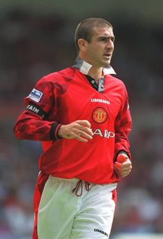 Eric Cantoná, Man Utd Squad, Manchester United Wallpaper, Manchester United Players, Best Football Players, Sport Icon, Sports Images, Man United, Best Player