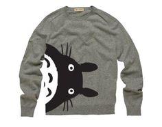 totoro sweater, @Mayra Bustos