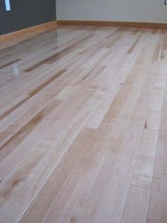 "Maple Solid Hardwood: ""The Natural Maple was the perfect amount of character and color for what we were looking for. The thin planks took a while to lay down, but the finished project is gorgeous. Time will tell if it lasts and stays this beautiful."""
