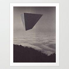 Megalith/Omen_01 Art Print by Jesse Draxler - $23.00