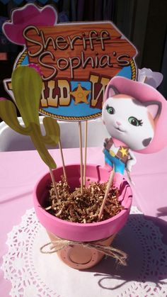Sheriff callie birthday party
