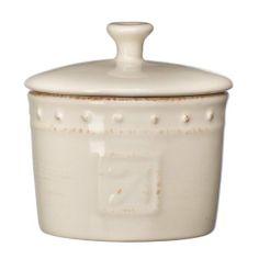 Signature Housewares Sorrento Collection 5-Ounce Stoneware Spice Jar, Ivory Antiqued Finish by Signature Housewares, http://www.amazon.com/dp/B003XJBCL6/ref=cm_sw_r_pi_dp_WQQjqb09XPHK5