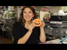 ScanNCut Project: Halloween Card - YouTube