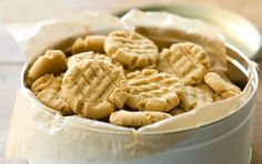This gluten-free version of a classic does not require a special flour blend; it can be assembled with basic pantry staples. Recipe: http://www.wholefoodsmarket.com/recipe/gluten-free-peanut-butter-cookies