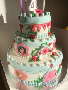 Princess cake disney