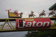 decoração de natal tematica scenarios  chocolates garoto