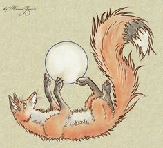 Fox-sketch by Kitsune-Inari-sama on deviantART <>