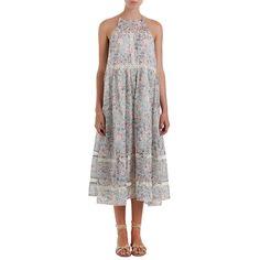 Gemma Folk Floral Sun Dress