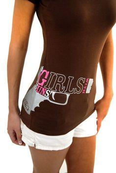 GWG Clothing | Girls with Guns t shirts | girls with guns glock
