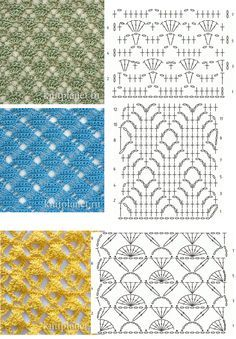 crochet stitches ✿⊱╮Teresa Restegui http://www.pinterest.com/teretegui/✿⊱╮