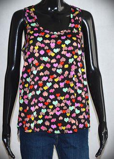 Kup mój przedmiot na #vintedpl http://www.vinted.pl/damska-odziez/bluzki-bez-rekawow/13150593-top-atmosphere-w-serduszka