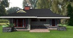 modern house plans in kenya, beautiful house designs kenya 3 Bedroom Bungalow, Bungalow House Plans, Modern House Plans, 3 Bedroom Floor Plan, Three Bedroom House Plan, House Plan With Loft, Loft House, Home Design Plans, Plan Design