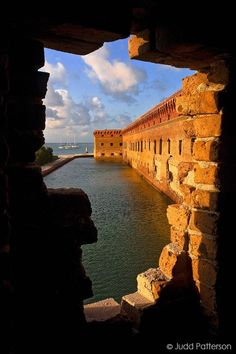 florida | Fort Jefferson morning at Dry Tortugas National Park in Florida
