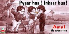 Amul (1967 - 2012): 20 utterly butterly best ads-India News - IBNLive Mobile