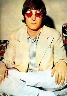 Iconic John Lennon. Find your new circular shades on Eyesave http://www.eyesave.com/products/browse.aspx?cid=1=9=-1=1