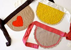 Quilted aprons!