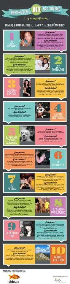 [Infographic] Wat zegt jouw profielfoto over jou Inbound Marketing, Marketing Digital, Internet Marketing, Online Marketing, Social Media Marketing, Facebook Marketing, Social Networks, Photo Profil Facebook, Facebook Profile Photo