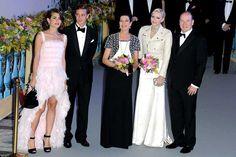 La realeza de Mónaco en el Baile de la Rosa