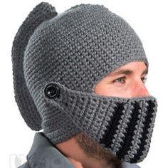 Medieval Knight Knit Hat#MedievalJousting #JustJoustIt
