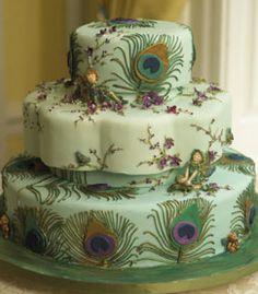 Peacock Fantasy Cake