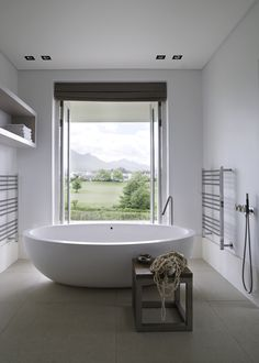 Piet Boon Styling by Karin Meyn | Bathroom with a breathtaking view