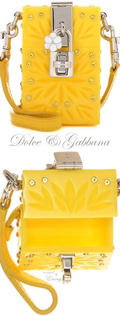 Emmy DE * Dolce & Gabbana Dolce Box Cinderella Mini shoulder bag