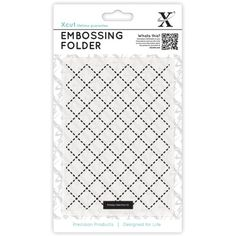 Look what I found on #blitsy! Xcut Universal A6 Embossing Folder-Quilting #blitsybuys