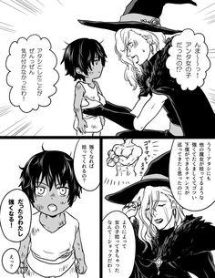 #魔女集会で会いましょう オネェ系魔女が男の子を拾ったと思ったら女の子だったって話です。趣旨違うかもしれないけどこういうの好き Manga Anime, Anime Art, Witch Characters, Anime Witch, Anime People, Manga Pages, Looks Cool, Comic Strips, Fantasy Art