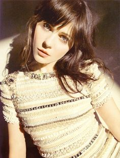 Zooey is so ridiculously gorgeous