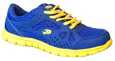 Kid's Light Weight Sneakers Boy's and Girl's Athletic Tennis Running Shoes (7.5, L. Blue *QX-10186B) *** You can get additional details at the image link.