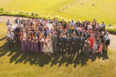 Must do! Get a huge picture of all your wedding guests! ❤️