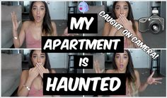 MY APARTMENT IS HAUNTED! [LIVE FOOTAGE]