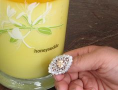 What a dazzling piece of jewelry this ring is. Vintage. $10 off COUPON, BUY HER THE PERFECT GIFT FOR MOTHER'S DAY!! Candle + Jewelry, you just can't go wrong!! Don't forget Aunts, Sisters, Grandmothers, Babysitters, Mom to Be too!! Use my link to enjoy $10 OFF ANY CANDLE!! http://my.cndl.es/x/5fTd5G