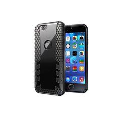 iPhone 6 : coque antichoc noire Gum Design - accessoire